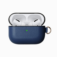 Leather Case for Airpods Pro (синий)