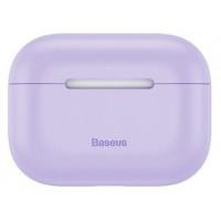 Силиконовый чехол Baseus для Airpods Pro WIAPPOD-ABZ05 (фиолетовый)