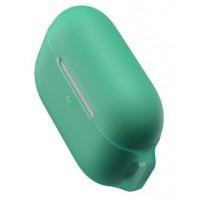 Силиконовый чехол Baseus для Airpods Pro WIAPPOD-D06 (зеленый)