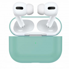 Silicone Case для Airpods Pro (Coast Blue)