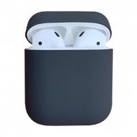 Чехол силиконовый для Apple Airpods Silicone Case (gray)