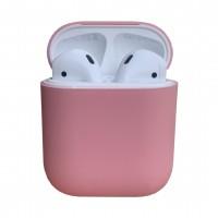 Чехол силиконовый для Apple Airpods Silicone Case (Pink)