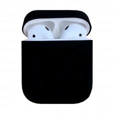 Чехол силиконовый для Apple Airpods Silicone Case (Black)