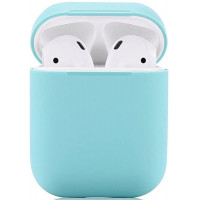 Чехол силиконовый для Apple Airpods Silicone Case (Sky Blue)