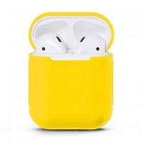 Чехол силиконовый для Apple Airpods Silicone Case (Mellow Yellow)