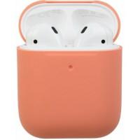 Чехол силиконовый для Apple Airpods Silicone Case (Papaya)