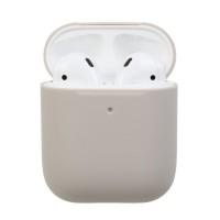 Чехол силиконовый для Apple Airpods Silicone Case (Stone)
