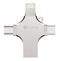 Флеш-накопитель COTEetCi CS8836-128 USB3.0 128 ГБ (серебро)