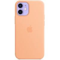 Накладка Silicone Case Magsafe для iPhone 12 Mini (Cantaloupe)