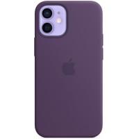 Накладка Silicone Case Magsafe для iPhone 12 Mini (Amethyst)