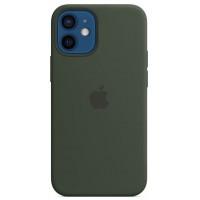 Накладка Silicone Case для iPhone 12 Mini (Cyprus Green)