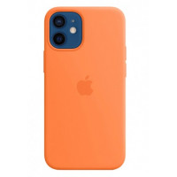 Накладка Silicone Case для iPhone 12 Mini (Kumquat)