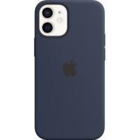 Накладка Silicone Case для iPhone 12 Mini (Deep Navy)