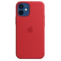 Накладка Silicone Case Magsafe для iPhone 12 Mini (Red)