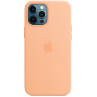 Накладка Silicone Case Magsafe для iPhone 12 Pro Max (Cantaloupe)