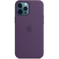 Накладка Silicone Case Magsafe для iPhone 12 Pro Max (Amethyst)
