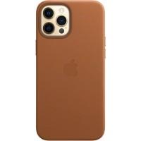 Накладка Leather Case Magsafe для iPhone 12/12Pro (Brown)