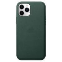 Накладка Leather Case для iPhone 12/12Pro (Pine Green)