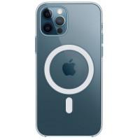 Накладка Clear Case MagSafe для iPhone 12/12Pro (прозрачный)