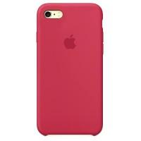 Накладка Silicone Case для iPhone 5/5s/SE (Rose red)