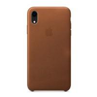 Накладка Leather Case для iPhone Xr (Brown)