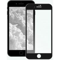 Защитное стекло 6D для iPhone SE 2020 (черный)