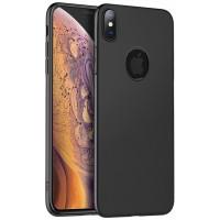 Чехол Hoco силиконовый для iPhone Xs Max (черный)