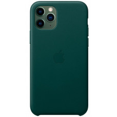 Накладка Leather Case для iPhone 11 Pro (Forest Green)