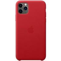 Накладка Leather Case для iPhone 11 Pro (Red)