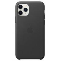 Накладка Leather Case для iPhone 11 Pro Max (Black)