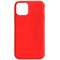 Бампер силиконовый для iPhone 11 Pro Max (красный)