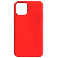 Бампер силиконовый для iPhone 11 (красный)