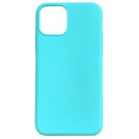 Бампер силиконовый для iPhone 11 (мятный)
