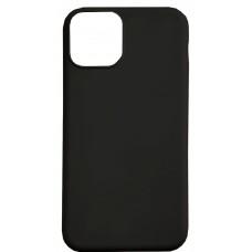 Бампер силиконовый для iPhone 11 (черный)