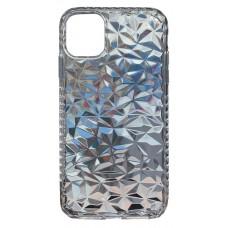 Бампер силиконовый с узором для iPhone 11 Pro (прозрачный)