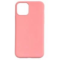 Бампер силиконовый для iPhone 11 Pro Max (розовый)