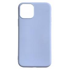 Бампер силиконовый для iPhone 11 (сиреневый)