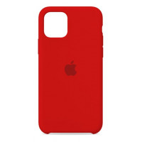Накладка Silicone Case для iPhone 11 (Red)