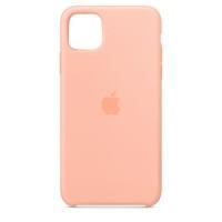 Накладка Silicone Case для iPhone 11 (Grapefruit)