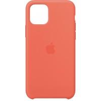 Накладка Silicone Case для iPhone 11 Pro Max (Clementine)