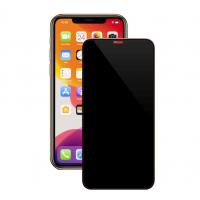 Защитное стекло для iPhone  Xs/11pro Max Антишпион (черный)
