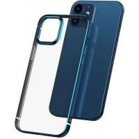 Чехол Baseus WIAPIPH54N-DW03 для iPhone 12 Mini (синий)