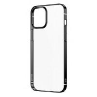 Чехол Baseus Glitter для iPhone 12 mini WIAPIPH54N-DW01 (черный)