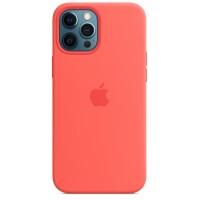 Накладка Silicone Case для iPhone 12/12Pro (Pink Citrus)