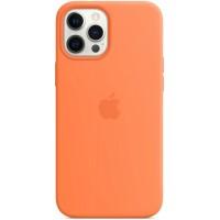 Накладка Silicone Case Magsafe для iPhone 12 Pro Max (Kumquat)