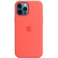 Накладка Silicone Case для iPhone 12 Pro Max (Citrus)