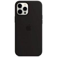 Накладка Silicone Case для iPhone 12 Pro Max (Black)