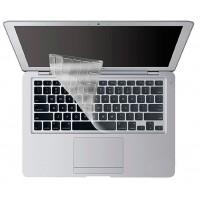 """13.3"""" Накладка на клавиатуру силиконовая для Macbook Pro 2020 (прозрачный)"""