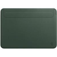 "16"" Чехол WIWU Skin Pro Leather Sleeve для MacBook Pro (зеленый)"