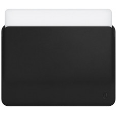 "12"" Чехол WIWU Skin Pro Leather Sleeve для MacBook  (черный)"